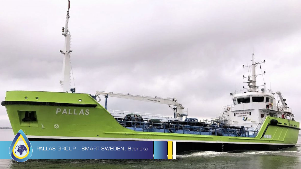 Pallas Group & Smart Energy, Suecia - Limpiador de combustible