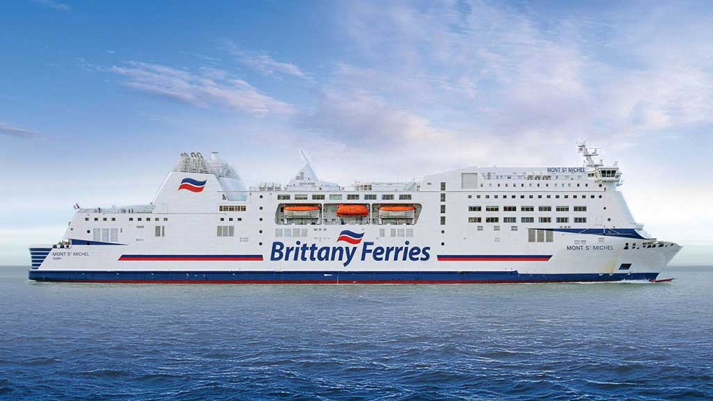Brittany Ferries France Reduction of carbon footprint