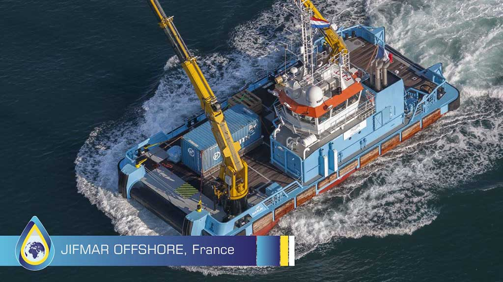 Marine injector cleaner - Jifmar Offshore Services uses XBEE
