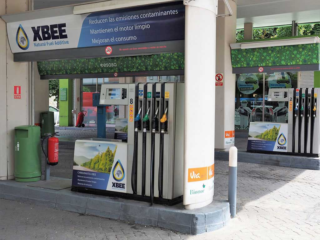 Gas additive cleaner - XBEE Petrol Stations
