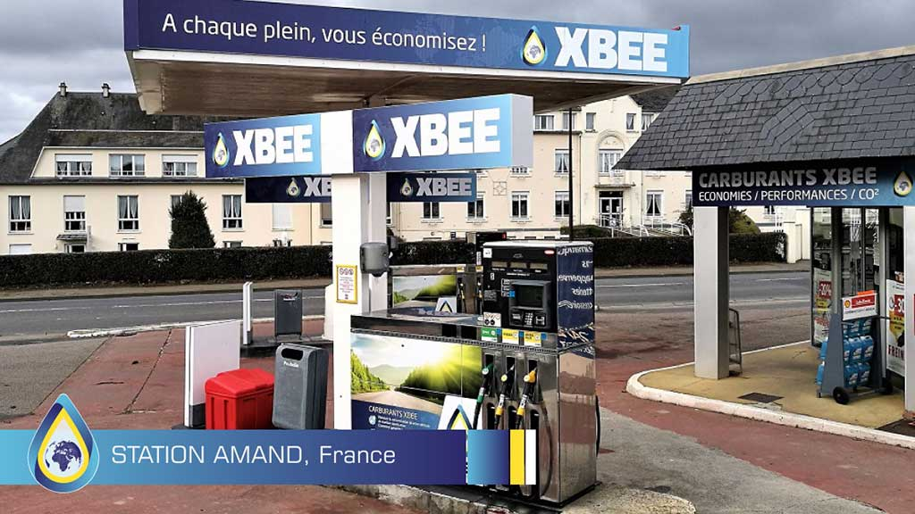 Gas treatment for cars - Petrol Station Amand uses XBEE