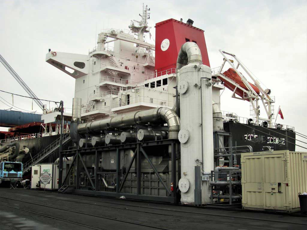 Marine fuel additive - Improving combustion with XBEE technology