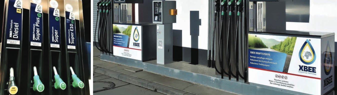 XBEE fuel station at Hecker Mineralole