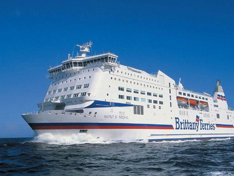 Gas emissions reduction -Brittany Ferries